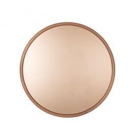 Nástěnné zrcadlo v měděné barvě Zuiver Bandit, ø60cm