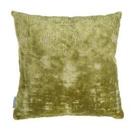Zelený polštář s výplní Zuiver Sarona Vintage, 45x45cm