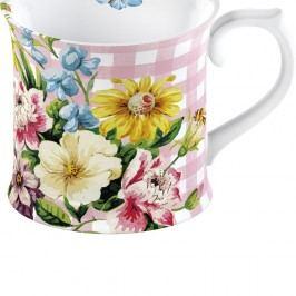 Květovaný porcelánový hrnek Creative Tops English Garden, 350 ml