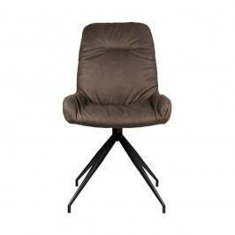 Béžovošedá jídelní židle LABEL51 Winner