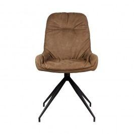 Hnědá  jídelní židle LABEL51 Winner