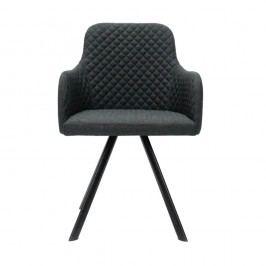 Antracitová jídelní židle LABEL51 Tigo