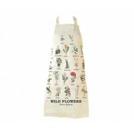 Zástěra z čisté bavlny Gift Republic Wild Flower