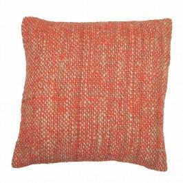 Oranžový povlak na polštář Tiseco Home Studio Chambray, 45x45cm