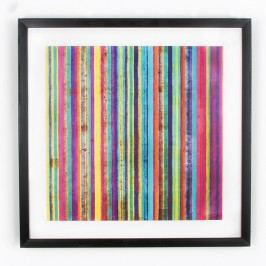 Obraz Graham & Brown Neon Stripe, 50 x 50 cm