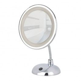 Zvětšovací zrcadlo s LED světlem Wenko Style
