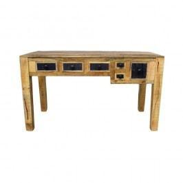 Pracovní stůl z masivního mangového dřeva Massive Home Bella