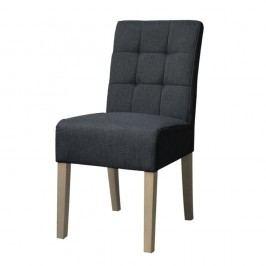 Antracitově šedá  jídelní židle LABEL51 Sem