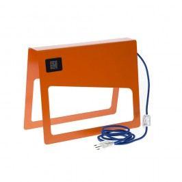 Oranžová stojací lampa MEME Design Piega