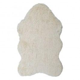 Krémový kožešinový koberec Ranto Soft Bear,70x105cm