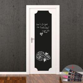 Set tabulové samolepky a popisovacího fixu Fanastick Giant Chalkboard