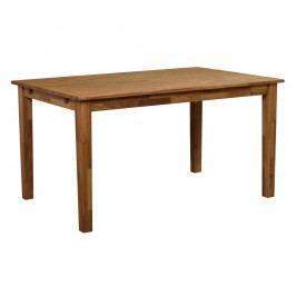 Jídelní stůl z masivního dubového dřeva Folke Finnus, 140x90cm