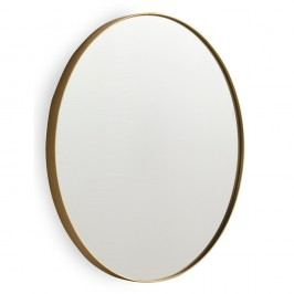 Nástěnné zrcadlo ve zlaté barvě Geese Pure, 40x50cm