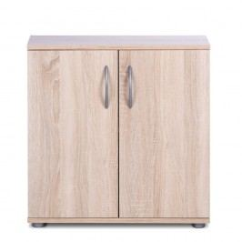 Dvoudveřová komoda v dřevěném dekoru Intertrade Peggy