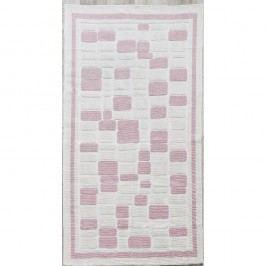 Běhoun Pink Tiles, 80x200cm