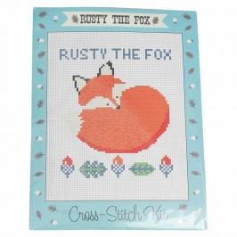 Set na křížkové vyšívání Rex London Rusty The Fox