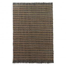Modro-hnědý koberec Geese Mumbai, 60x 120 cm