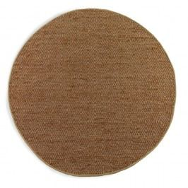 Hnědý koberec Geese Maine, ⌀ 180 cm