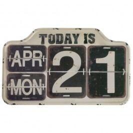 Černý nástěnný kalendář Geese Today