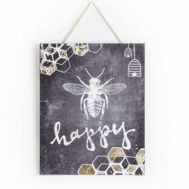 Obraz Graham & Brown Bee Happy, 40x50cm
