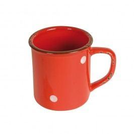 Červený hrnek z porcelánu Antic Line Cup Red