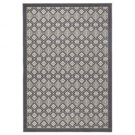 Šedo-béžový koberec Hanse Home Gloria Tile, 160x230cm