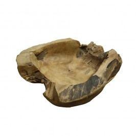Mísa na ovoce z teakového dřeva HSM collection Rakke, ⌀40cm