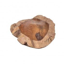 Mísa na ovoce z teakového dřeva HSM collection Mara,⌀40cm