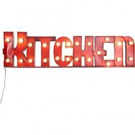 Červená světelná dekorace Kare Design Kitchen