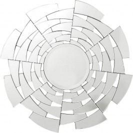 Nástěnné zrcadlo Kare Design Firestorm, Ø 115cm