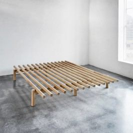 Rám postele z borovicového dřeva Karup Pace,160 x 200 cm