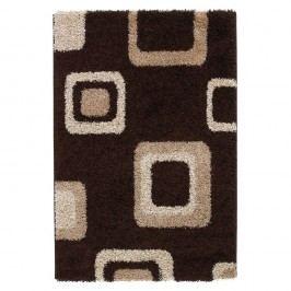 Hnědý koberec Think Rugs Majesty, 60x120cm