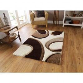 Hnědo-béžový koberec Think Rugs Fashion, 160 x 220cm
