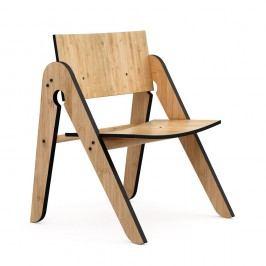 Dětská židle z bambusu Moso s černými detaily We Do Wood Lilly's