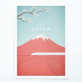 Plakát Travelposter Japan,A3
