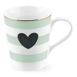 Porcelánový hrnek Miss Étoile Coffee Mint, Ø 8 cm