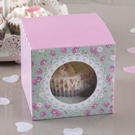 Sada 5 papírových krabic na cupcaky Neviti Frills and Spills