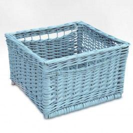 Modrý proutěný košík Faktum