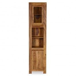 Vysoká koupelnová skříňka ze dřeva palisandru Woodking Lee