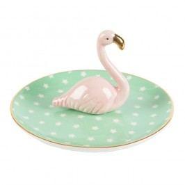 Keramická miska na šperky Sass & Belle Tropical Flamingo