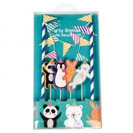 Set na zdobení dortu Rex London Party Animals