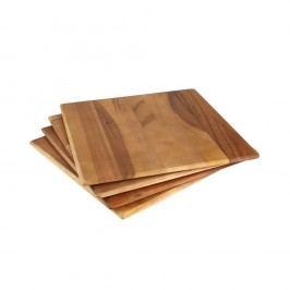 Sada 4 prostírání z akáciového dřeva T&G Woodware Tuscany