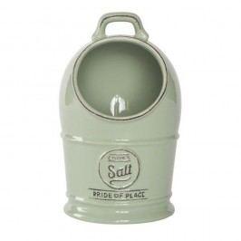 Zelená keramická dóza na sůl T&G Woodware Pride Of Place