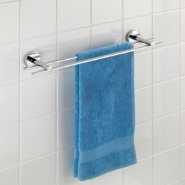 Samodržící dvojitý držák na ručníky Wenko Vacuum-Loc Capri, nosnost až33kg
