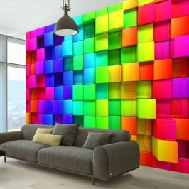 Velkoformátová tapeta Artgeist Cubes, 350x245cm