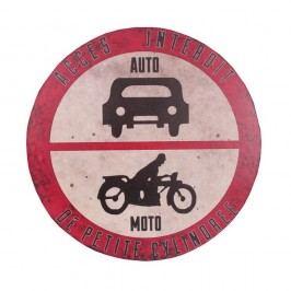 Cedule Antic Line Industrial Auto-Moto Plaque