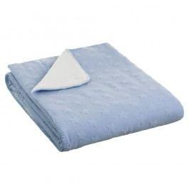 Modrá deka Unimasa Sunny, 130 x 150 cm