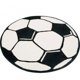 Dětský koberec Hanse Home Football,⌀100 cm