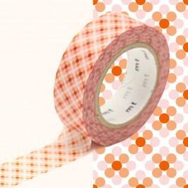 Washi páska MT Masking Tape Stephanie, návin10m