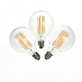 Sada 3 LED žárovek Bulb Attack GLOBE Linear, 6,5 W